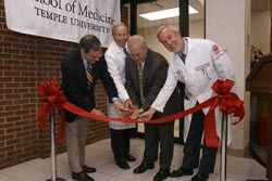 New medical school office ribbon cutting