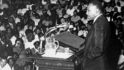 Martin Luther King Jr at Temple University