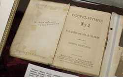 A hymn book owned by Harriet Tubman