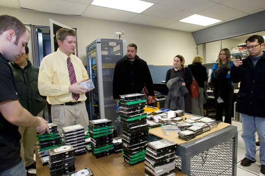 Computer Recycling Center Models Good Behavior Temple Now