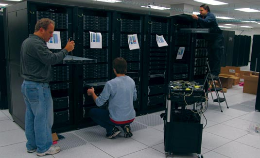 Super Computer installed at Temple