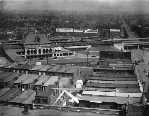 North Philadelphia Station in 1922