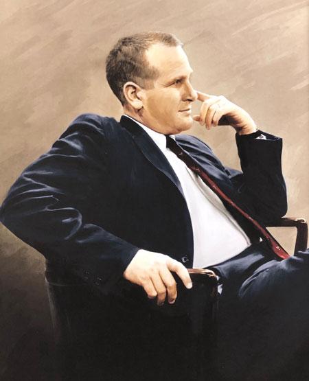 Lew Klein portrait