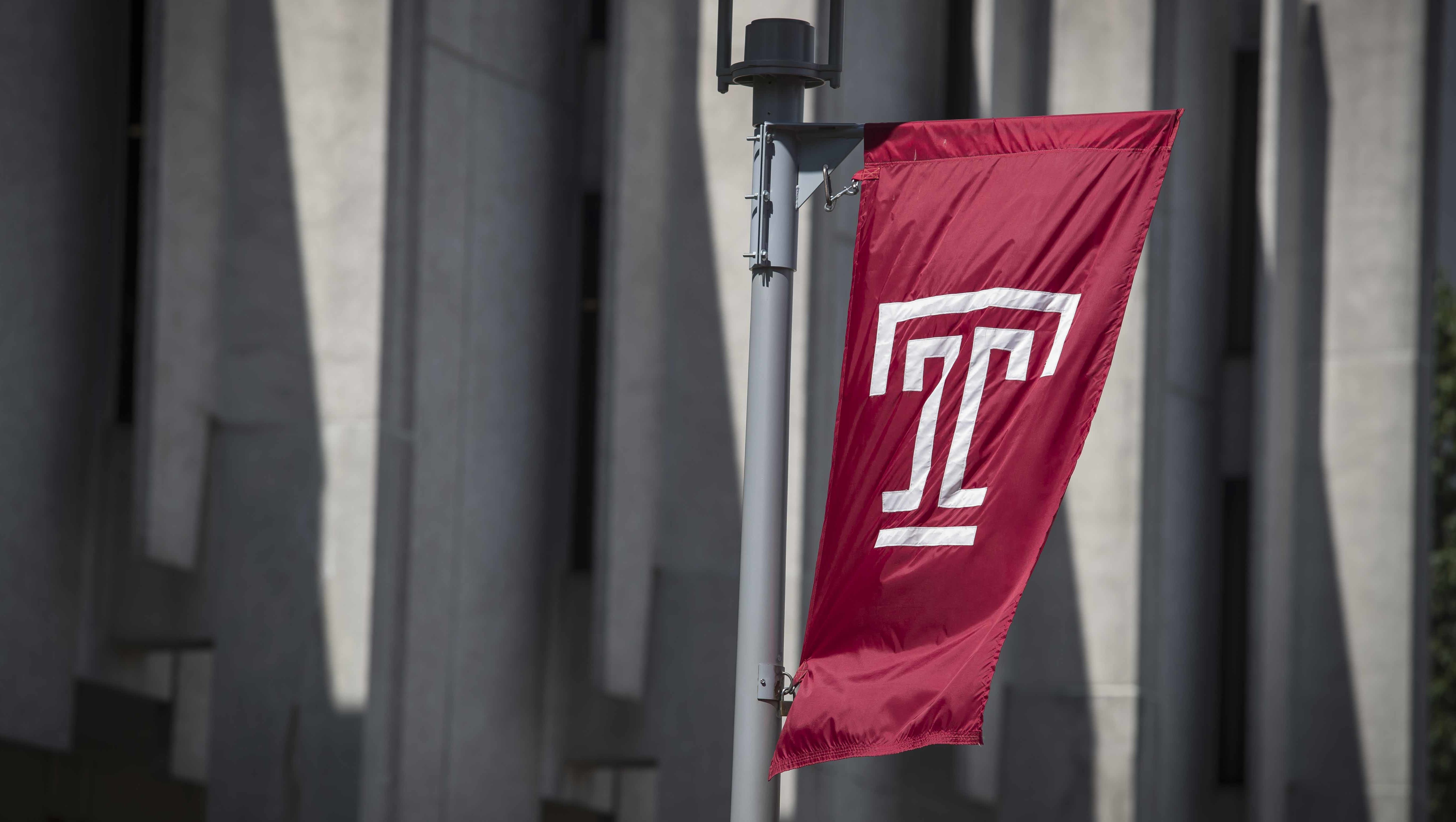 Temple T flag