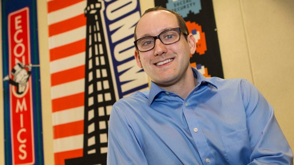 Labor economist Douglas Webber