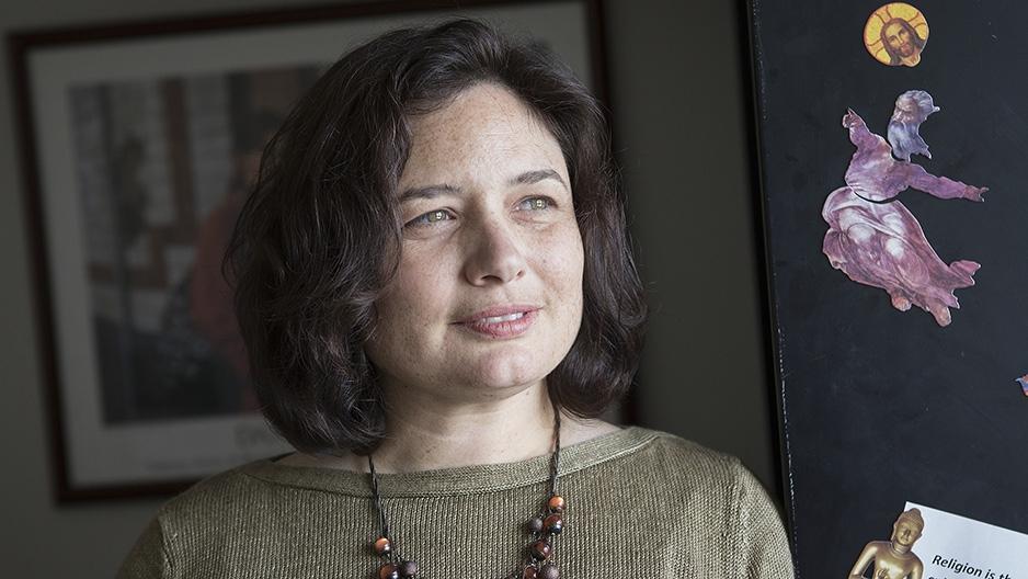 Assistant Professor of Religion Elizabeth Hayes Alvarez.