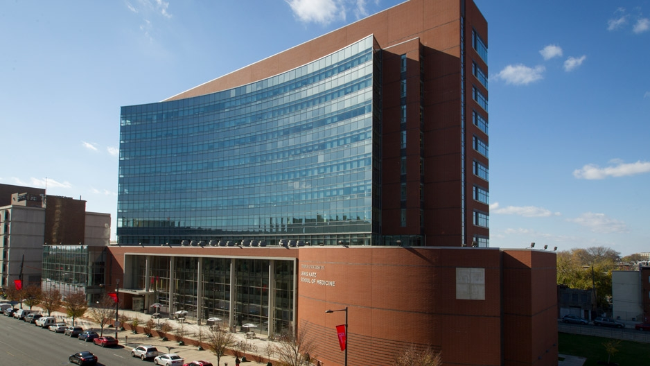 Lewis Katz School of Medicine ranks in top 10 for applicants