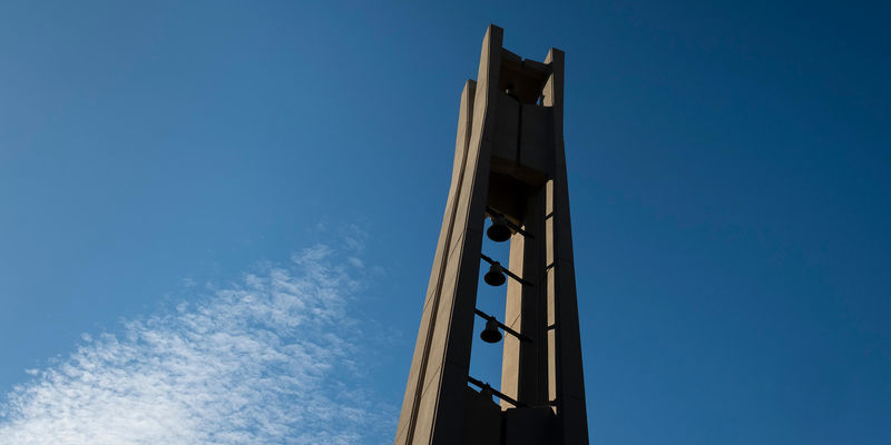 The Bell Tower on Main Campus.