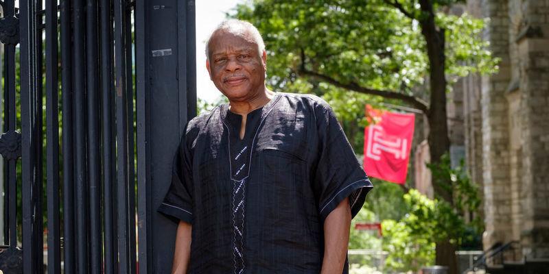 A portrait of Molefi Kete Asante