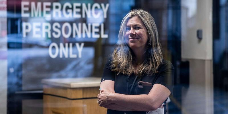 Maura Sammon, emergency medicine specialist at Temple Health