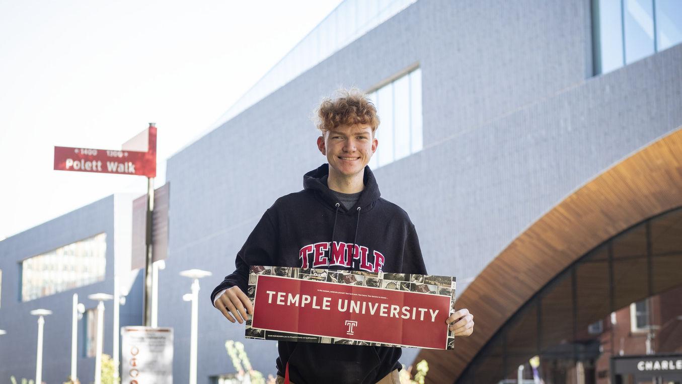 Temple student Daniel Costello