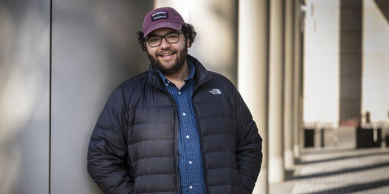 Niccolas Uff, media studies and production junior at Klein College.