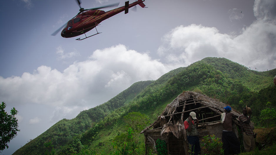 Grand Bois Mountain in Haiti