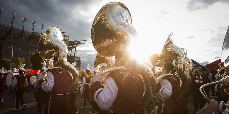 the Diamond Marching Band