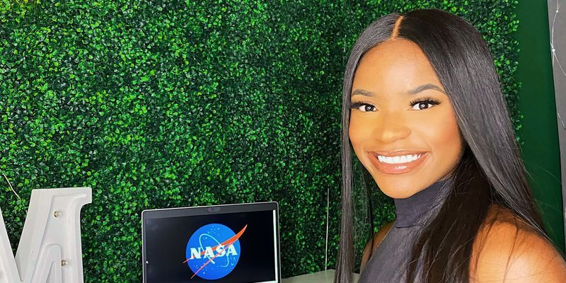 Mya Sims interned at NASA this summer.