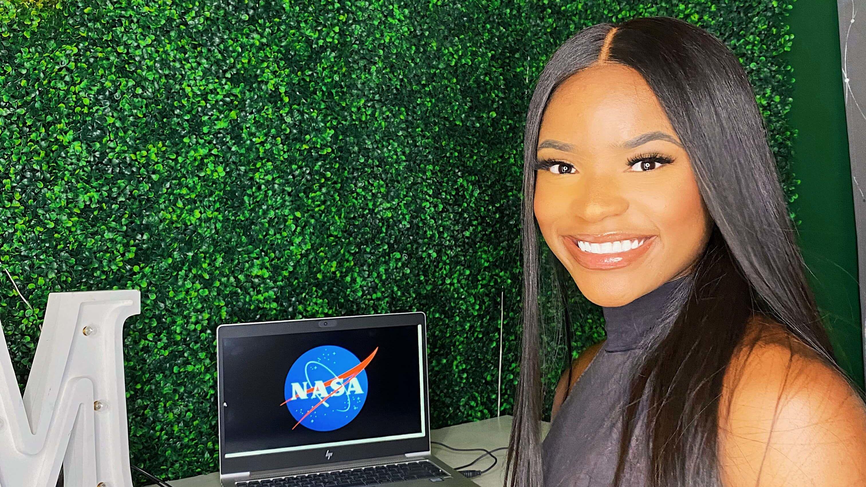 Mya Sims interned at NASA this summer.