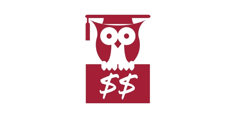 An illustration of an owl wearing a commencement cap.