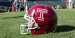 Temple football helmet featuring the Temple T