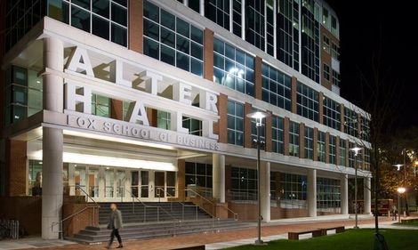 Alter Hall, home of the Fox School of Business at Temple University