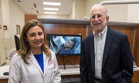 researchers Marisol Tellez Merchán and Richard Heimberg