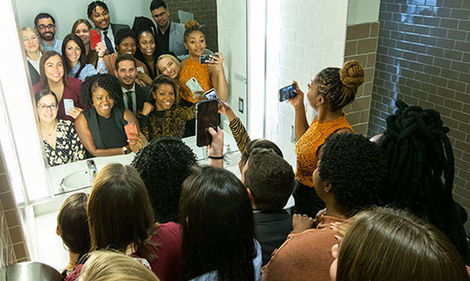 30 Under 30 honorees take a bathroom selfie Met Gala-style