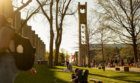 Students on Main Campus.