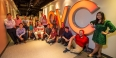 22 Temple University students who interned at QVC