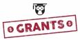 An owl with a commencement cap above the word grants.