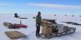 Assistant Professor Atsuhiro Muto in Antarctica