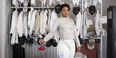 Kamali Thompson dressed in her fencing uniform