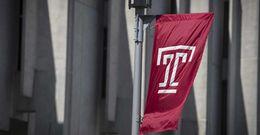 Temple T flag