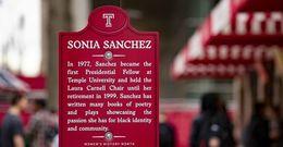 Women's History Month marker: Sonia Sanchez