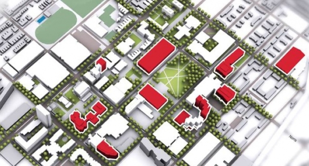After Final Review Visualize Temple To Guide Campus Planning