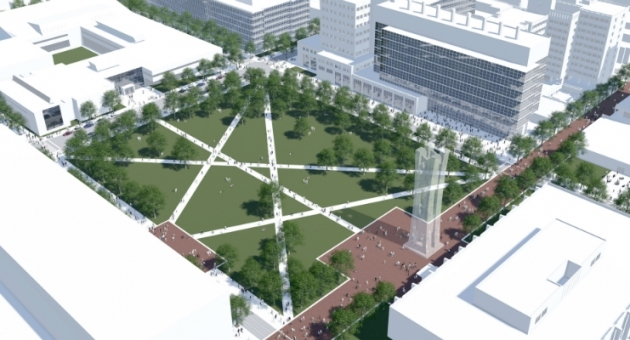 Temples latest draft campus plan includes new library for Temple university landscape architecture