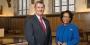 President Richard M. Englert and Provost JoAnne A. Epps