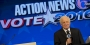 6ABC anchor Jim Gardner moderating a U.S. Senate debate on Temple's campus.
