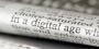 Image of a print newspaper