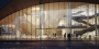 A rendering that depicts of the atrium of Temple's new library.
