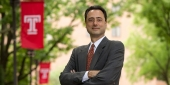 Gregory N. Mandel, the newly appointed dean of Temple University's Beasley School of Law.