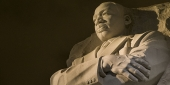 The Martin Luther King Jr. monument in Philadelphia, PA.