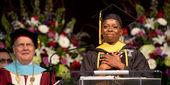 Student speaker Vanessa Chandler