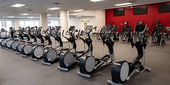 cardio equipment at Temple IBC Student Recreation Center