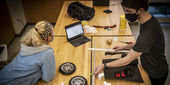 students build a prosthetic prototype