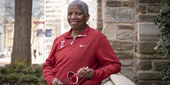 Temple women's fencing head coach Nikki Franke