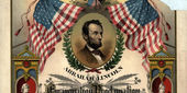 an illustrated copy of the Emancipation Proclamation