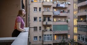 A Temple student studying abroad in Italy.