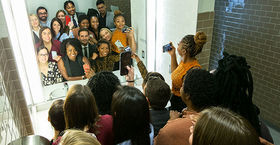30 Under 30 honorees take a bathroom selfie Met Gala-style