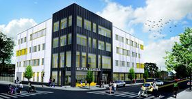 Rendering of the proposed Alpha Center
